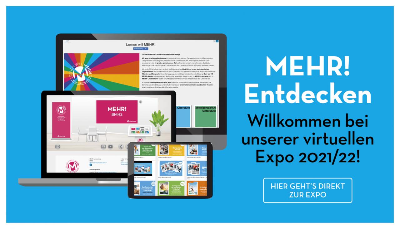 MEHR! Hölzel Verlag Virtuelle Expo