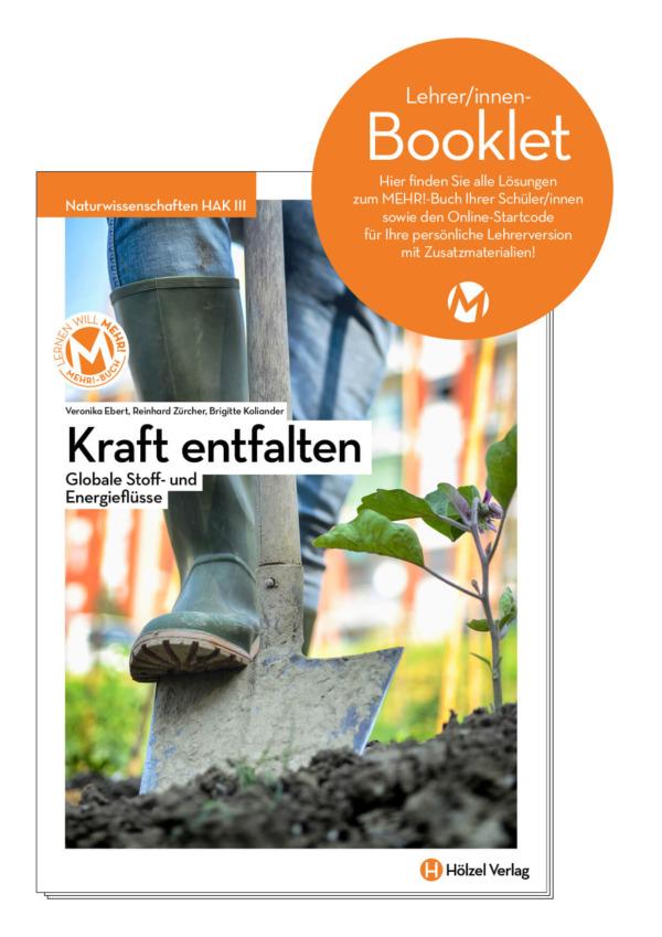 Naturwissenschaften HAK III (Lehrer/innen-Booklet), Manz