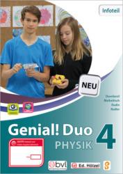 Genial! Duo Physik 4 - Infoteil mit E-Book, Manz